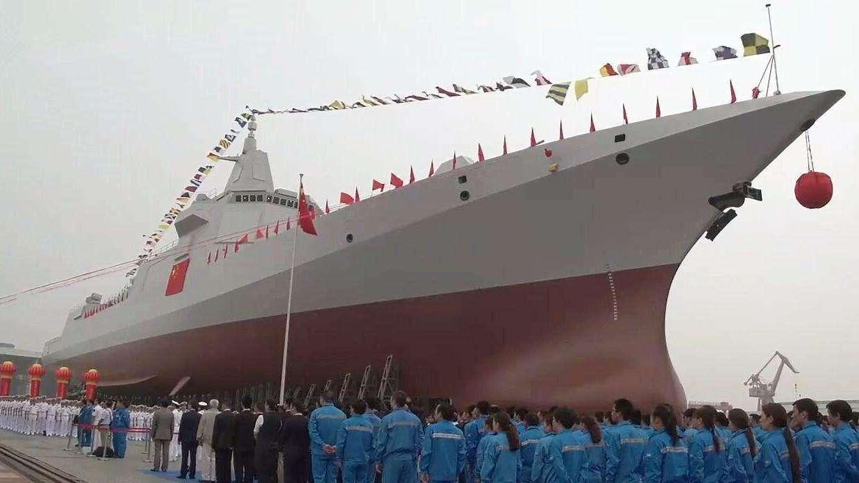 彩票聊天室抢红包:中国055型驱逐舰为何不叫巡洋舰?这里告诉你原因