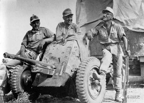 北非战场德军图片