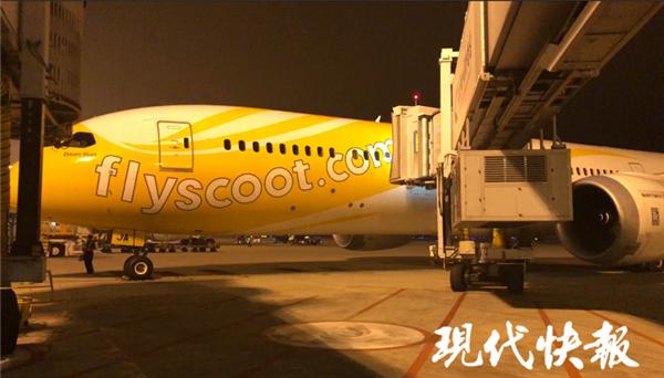 南京飞新加坡航班轮胎破损 近400旅客退关滞留