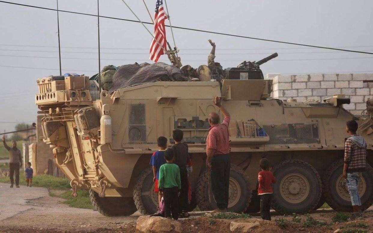 美国叙利亚图谋彻底失败,驻叙美军亟待撤离止损,否则后果难料
