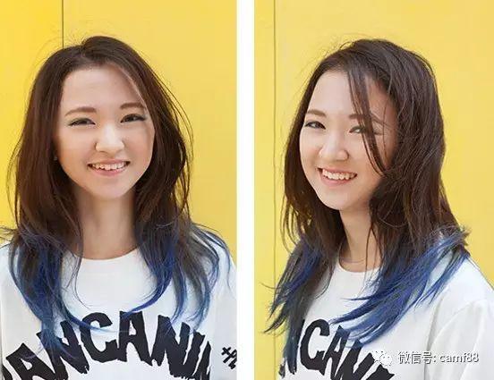 胖脸女生适合的刘海发型设计,十分时尚潮流!图片