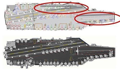 核动力航母仍然使用核能加热蒸汽轮机,是电力