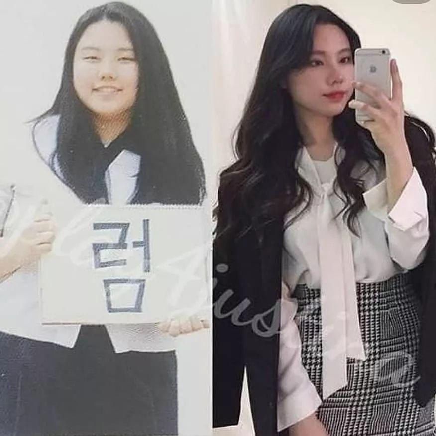 她减掉半个自己,瘦下来连整容的钱都省了!