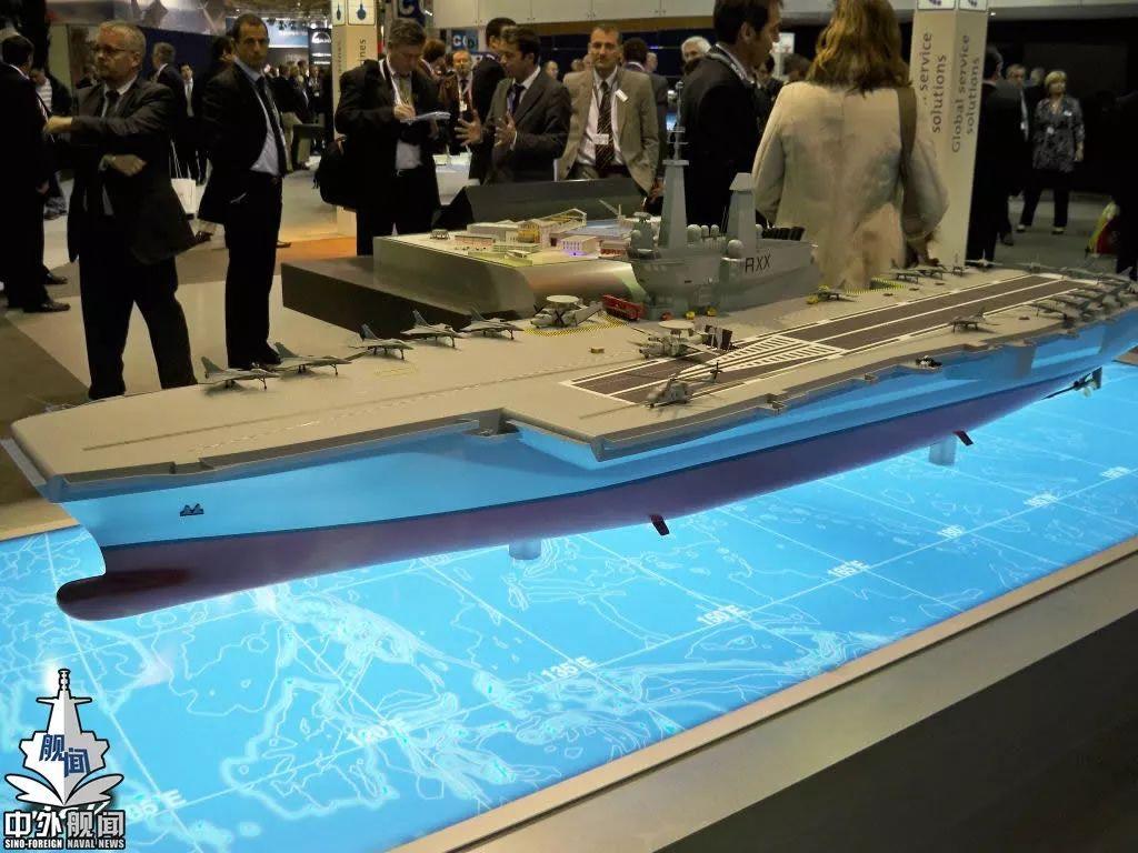 法国宣布重启核航母计划 继续与核潜艇共用反应堆