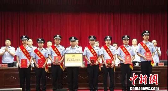 """""""7・6""""拐骗儿童案中表现突出的公安民警、优秀集体。赣州警方"""