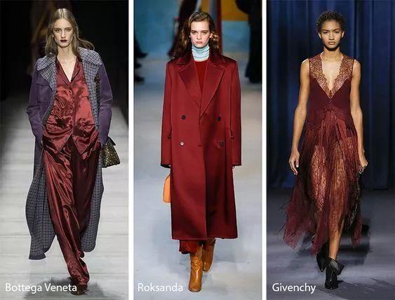 重磅|2018秋冬十大流行色来了!谁穿谁美!