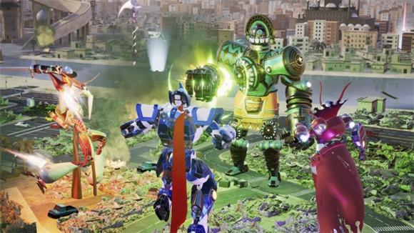 《覆盖:机械城乱斗》12月4日登陆三大平台