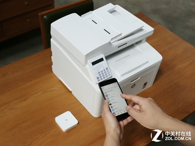 钉钉X惠普 神奇小盒子1分钟开始云打印