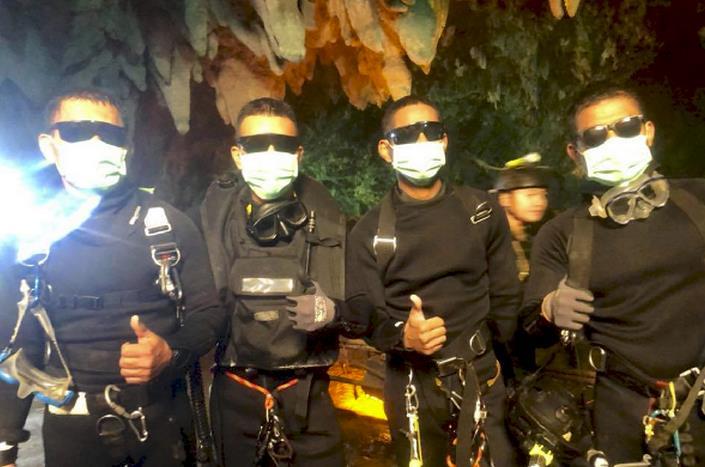 被困泰国洞穴的少年足球队13人全获救 专家解读