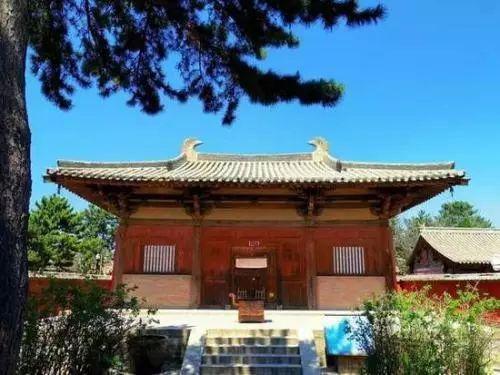 寺大殿是唐中国最早的木构殿堂之一-中国古建知多少 问答