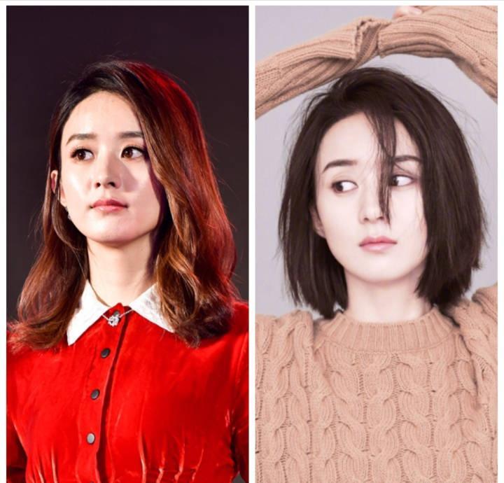 赵丽颖 长发的时候很美,但是不得不承认,赵丽颖剪了短发之后整个人都