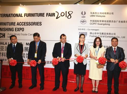 中马展览获2019年马来西亚国际家具展中国总代理