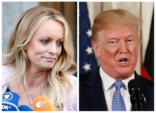 自称与特朗普曾有性关系的美国艳星被捕律师:这是圈套