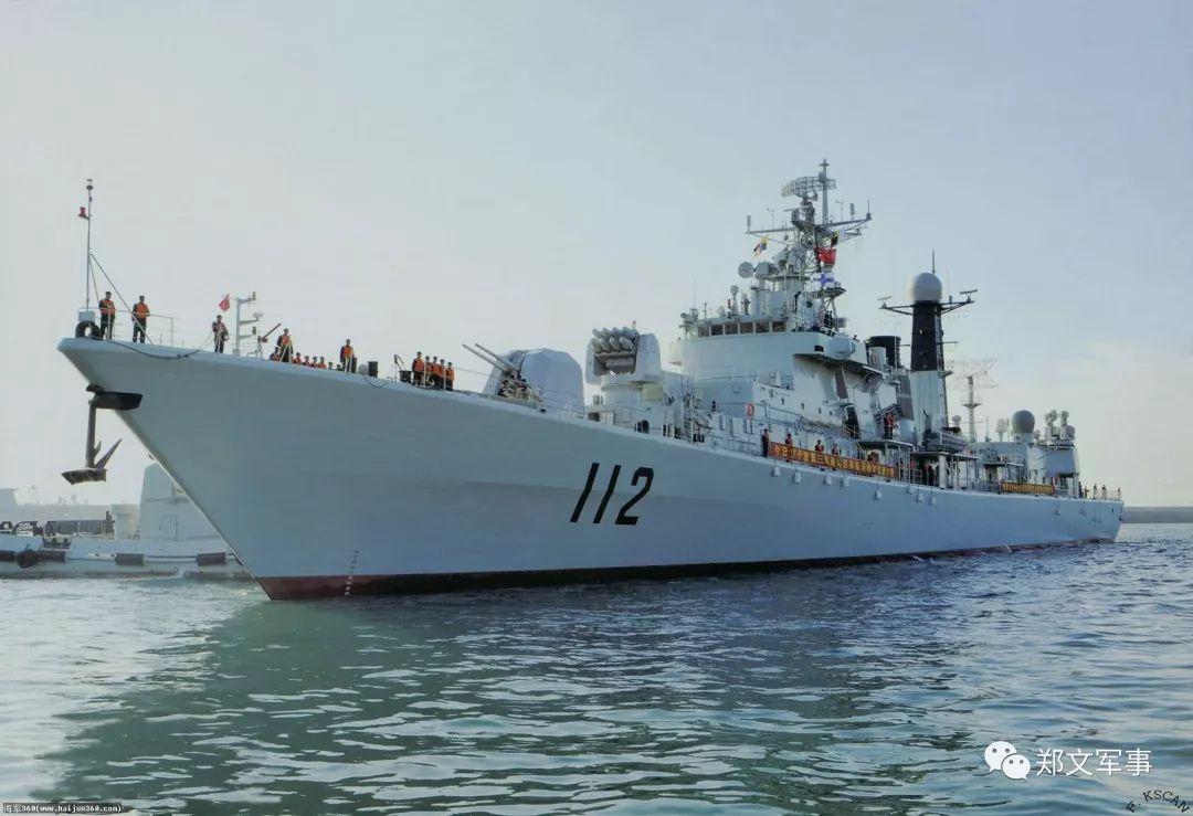 """最小4千吨,最大7千吨:这型舰艇""""5兄弟""""称霸我国海军"""