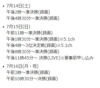 日本NHK440寸CLED 8K直播世界杯决赛