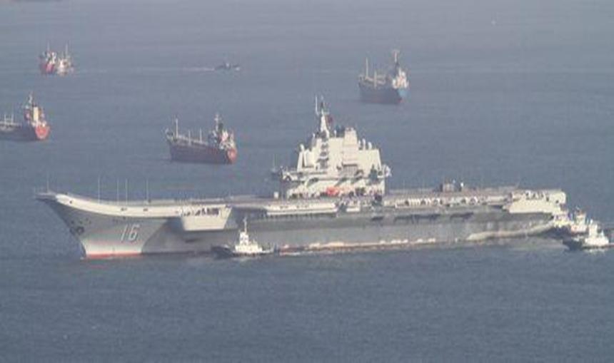 """""""海上朱日和""""打响 集齐航母和核潜艇 未来055也将编入蓝军"""