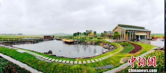 小滦河国家湿地公园一角 张桂芹 摄