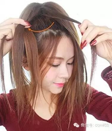 韩式环形花苞头编发教程,瞬间提升气质!