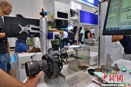 资料图:国际机械工业装备博览会。中新社记者 佟郁 摄