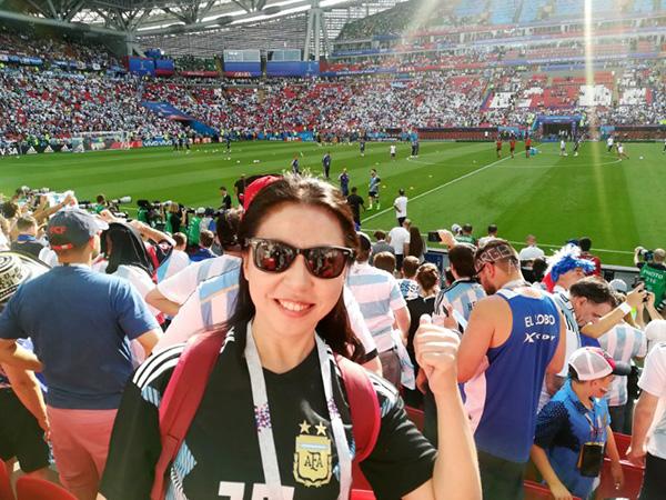 世界杯征文 澎湃送我见证梅西,我成了阿根廷第十二人