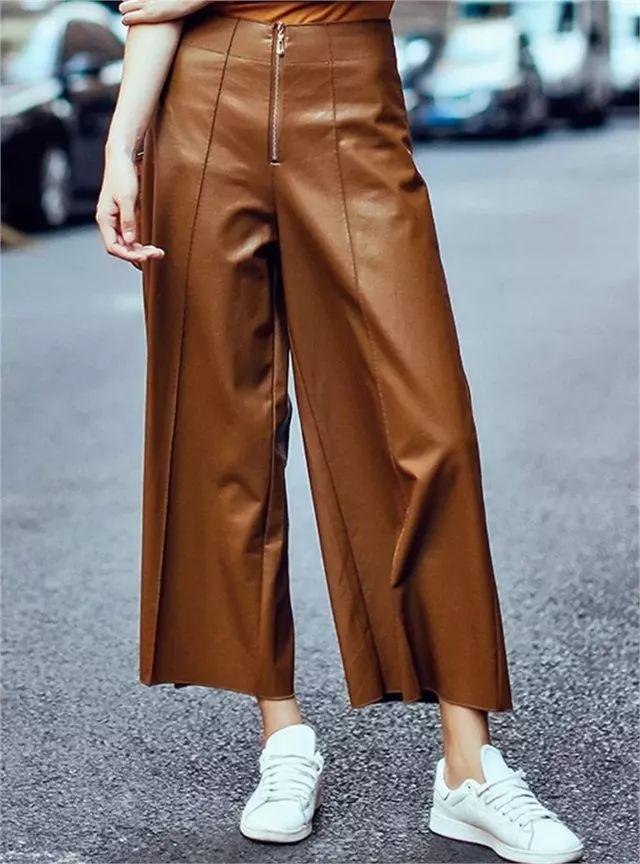热巴的阔腿裤也太好看了!必火