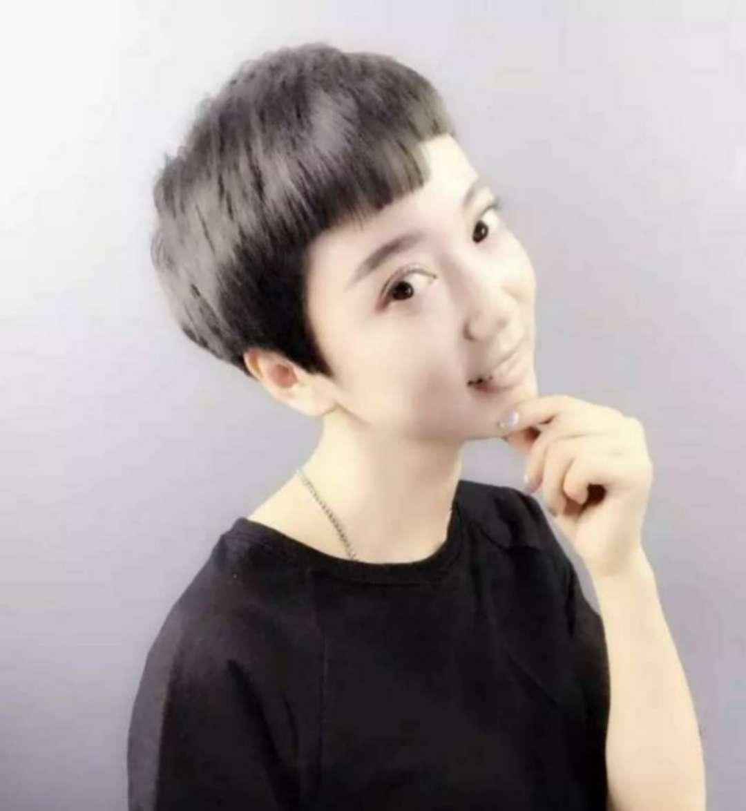 女生剪像男孩子的短发时,有什么发型推荐?图片