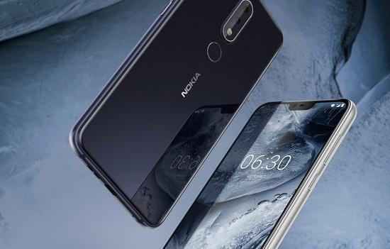 登陆全球市场:诺基亚X6将更名Nokia 6.1 Plus!