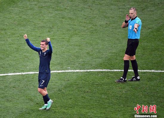 格列兹曼:世界杯决赛进点球非常高兴 想到了齐达内