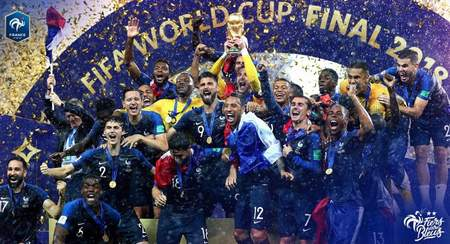 里贝里恭喜法国夺冠:多棒的表现!
