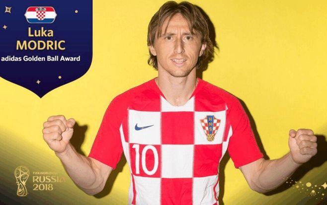 克罗地亚无缘世界杯冠军,莫德里奇荣膺金球奖,女总统颁奖时哭了