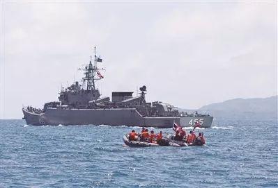 中国产战舰参与普吉岛救援