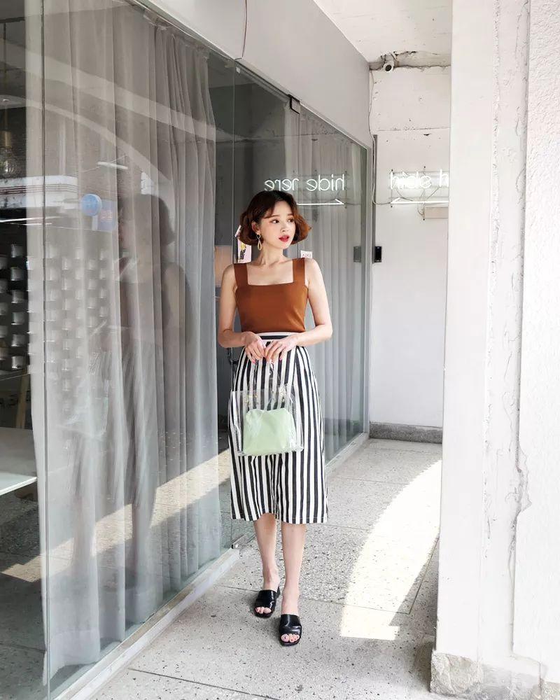 2018女生潮流衣服搭配,夏季服装搭配图!