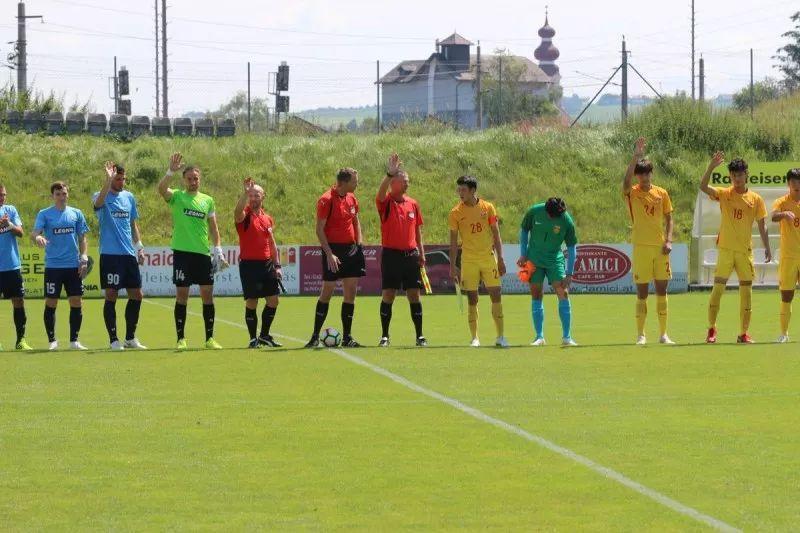99国青12球横扫法国球会 转战奥地利首战负苏维埃之翼