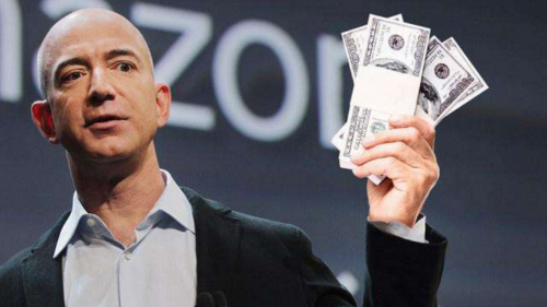 贝佐斯身价超1500亿美元:比颠峰时期盖茨还要恐怖