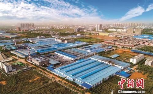 资料图,大冶湖高新技术产业开发区 钟欣 摄