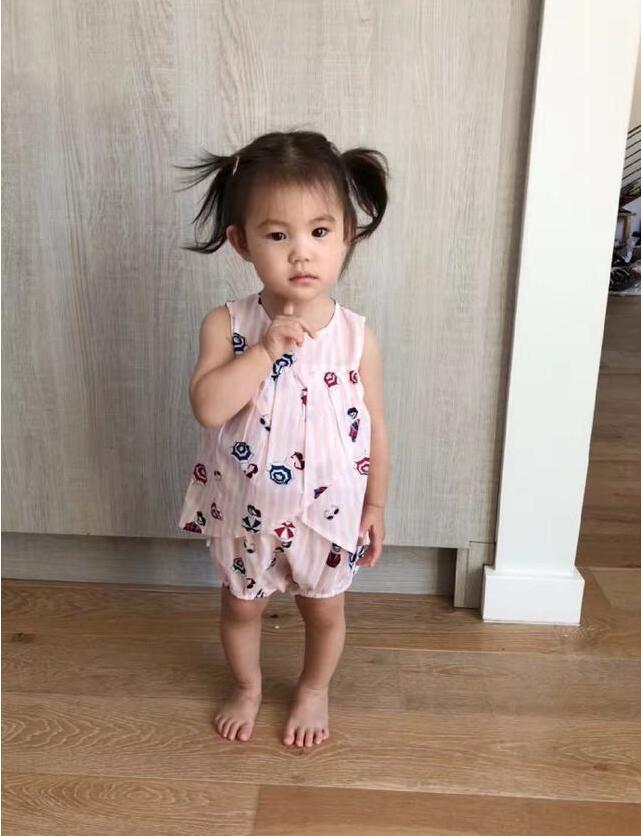陈冠希女儿越长越洋气,才一岁这腿竟这么长了