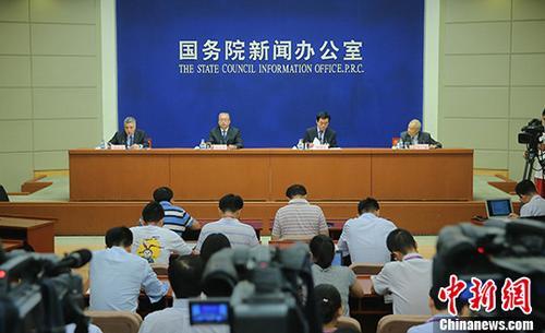 7月18日,国务院消息办公室发外《青藏高原生态雅致建设状况》白皮书。中新社记者 杨可佳 摄
