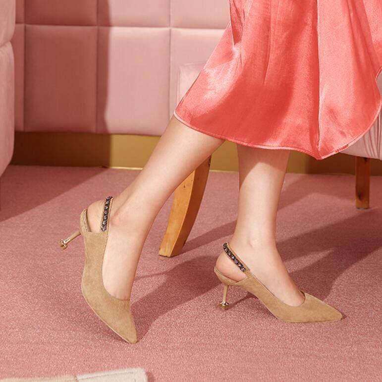舒适又性感的高跟鞋,将知性优雅汇于足尖