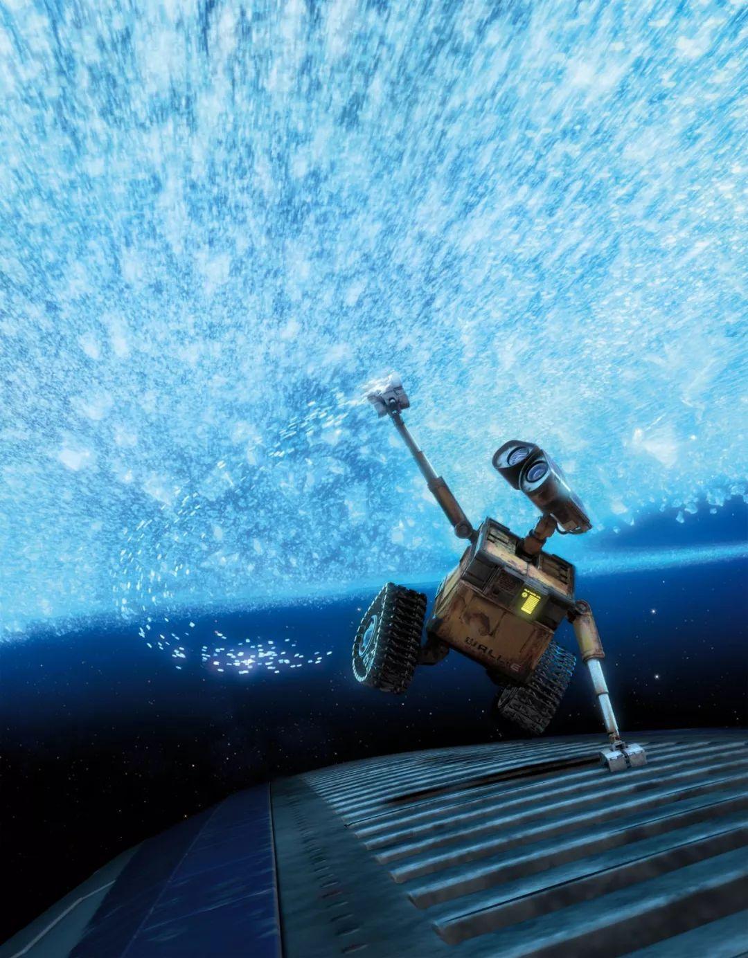 《机器人总动员》的主角机器人瓦力