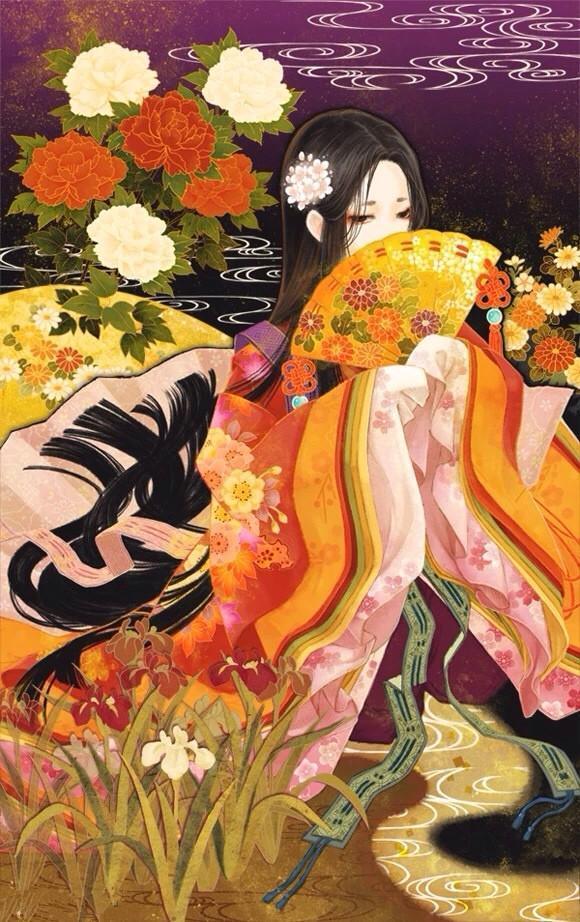 唯美头像丨古风手绘插画,气质高雅,貌美如花的古风