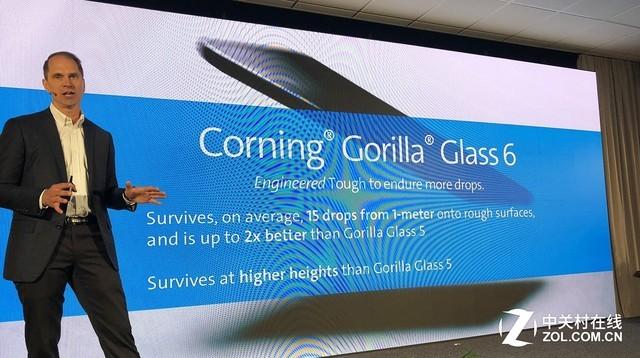 康宁第六代大猩猩玻璃发布 可接受15次1米跌落