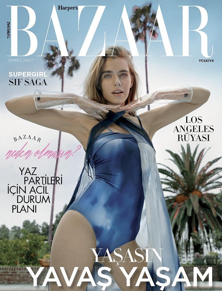 时尚芭莎新面孔,模特新星SifSaga火辣身材演绎土耳其版时尚大片