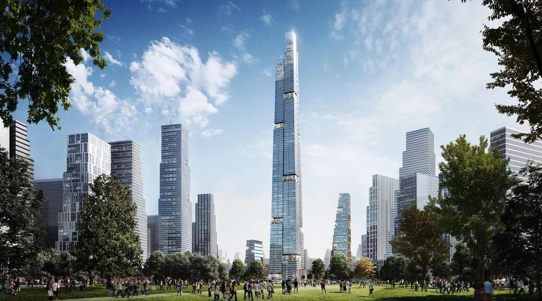 677米 成都超高层将超上海中心大厦,或成中国第一高楼