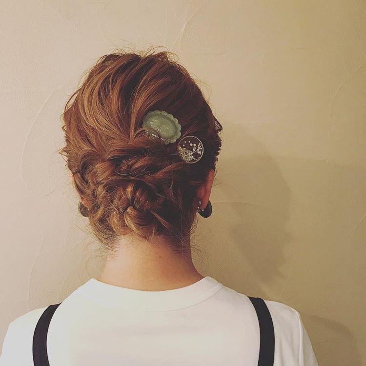 夏季中长发编发, 时尚编发,双拼低马尾,拍照的首选发型!