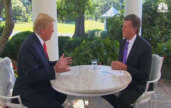 特朗普:若不能与普京建立关系 我将成其死敌