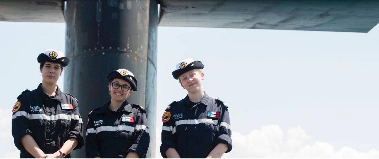 世界第三:法国核潜舰首批4名女军官服役