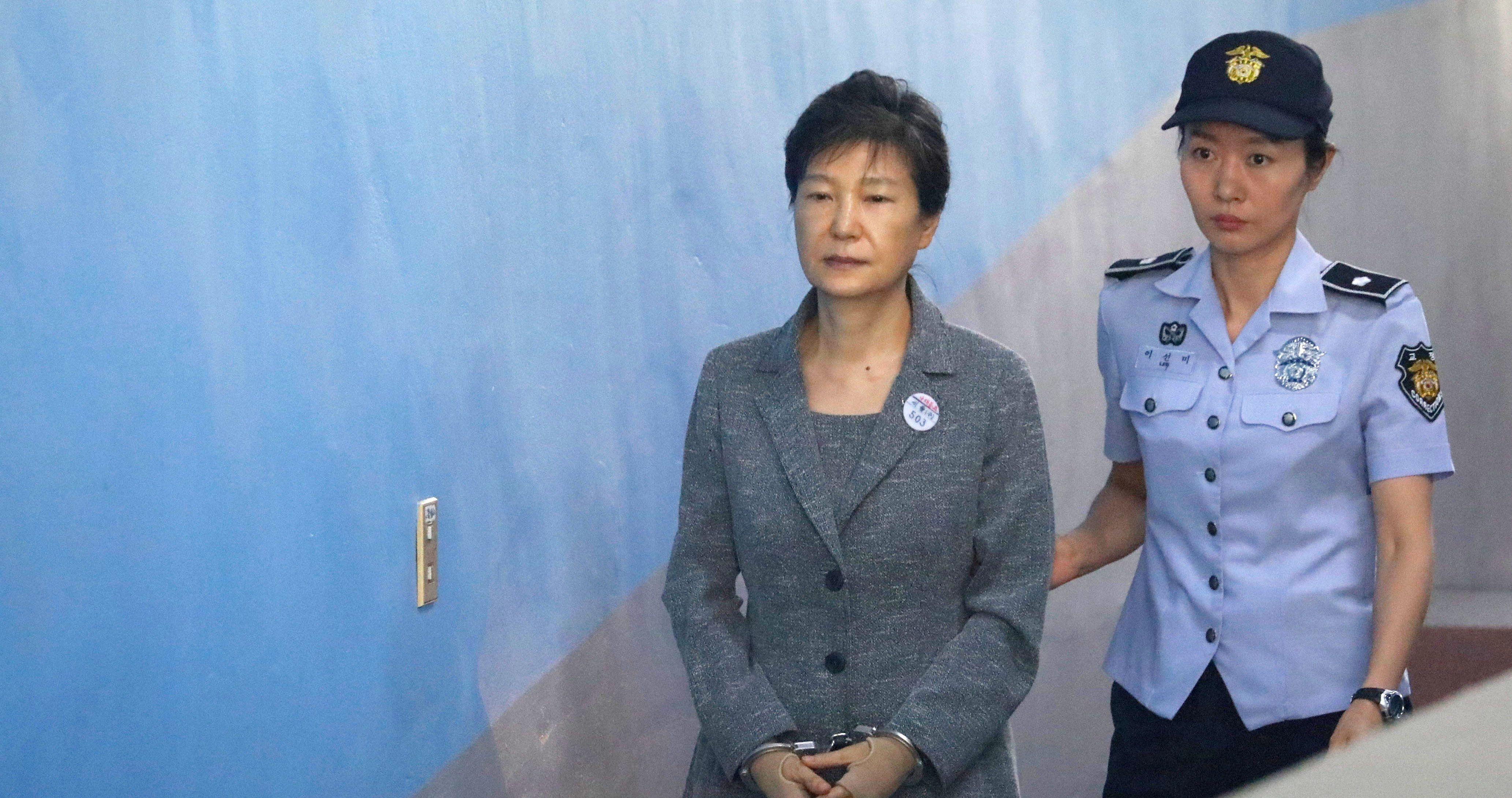 朴槿惠被判20年