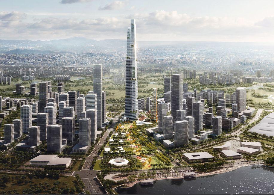 中国第一高楼?成都超高层将超上海中心大厦,高677米!