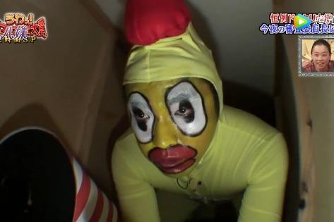 日本整人综艺:扮鸭吓人,反被整蛊,超搞笑!