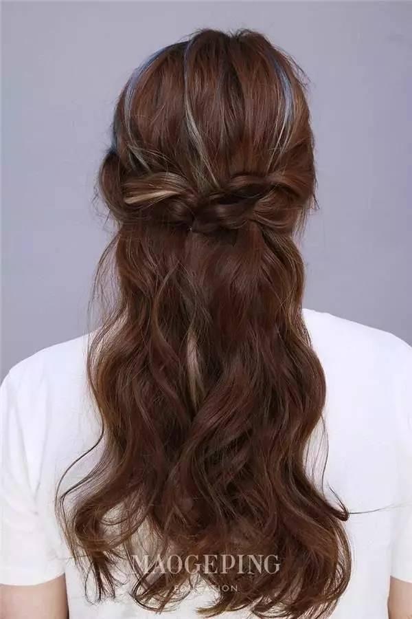 编发教程图解 编辫子发型扎法图解